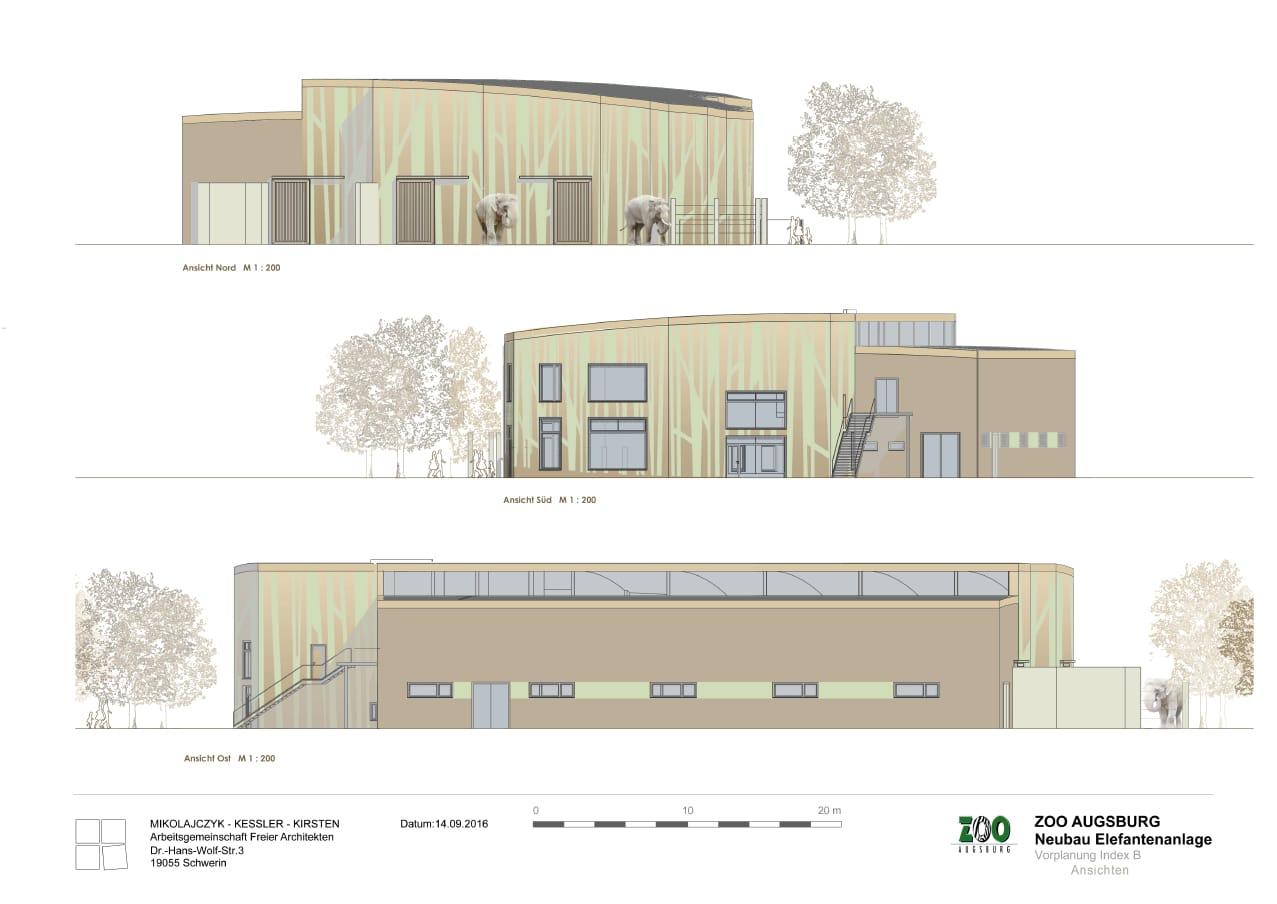 elefantenanlage zoo augsburg. Black Bedroom Furniture Sets. Home Design Ideas